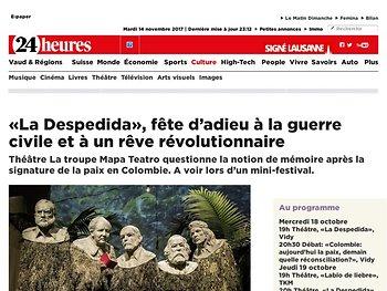 «La Despedida», fête d'adieu à la guerre civile et à un rêve révolutionnaire