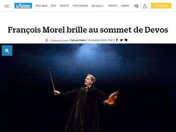 François Morel brille au sommet de Devos