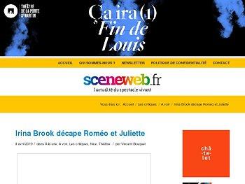 Irina Brook décape Roméo et Juliette