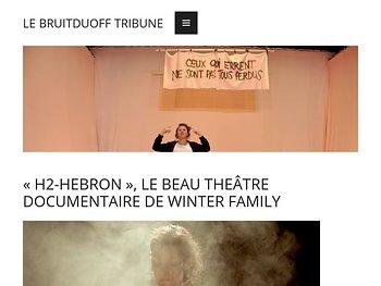 Le beau théâtre documentaire de Winter Family