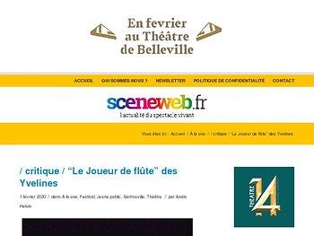 """""""Le Joueur de flûte"""" des Yvelines"""