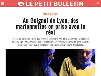 Au Guignol de Lyon, des marionnettes en prise avec le réel
