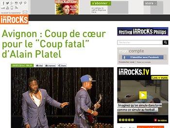 """Coup de cœur pour le """"Coup fatal"""" d'Alain Platel"""