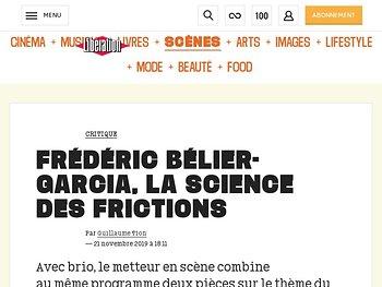Frédéric Bélier-Garcia, la science des frictions
