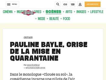 Pauline Bayle, crise de la mise en quarantaine