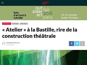 « Atelier » à la Bastille, rire de la construction théâtrale