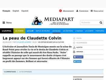 La peau de Claudette Colvin