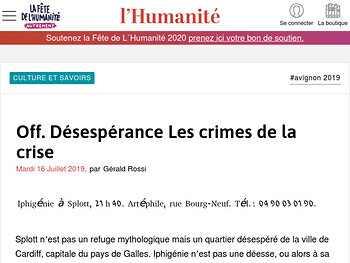 Désespérance Les crimes de la crise