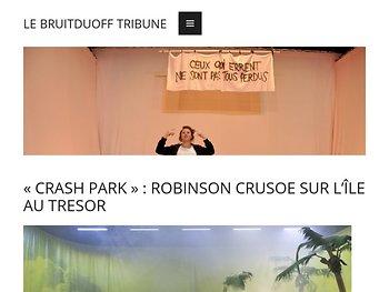 Robinson Crusoe sur l'ïle au trésor