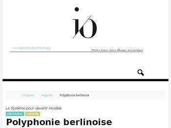 Polyphonie berlinoise