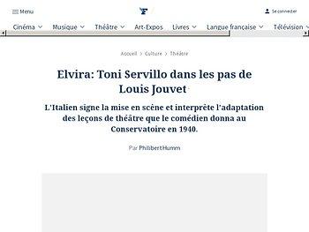 Elvira : Toni Servillo dans les pas de Louis Jouvet