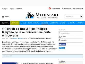 « Portrait de Raoul », le rêve derrière une porte entrouverte