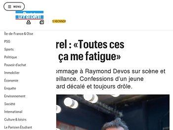 François Morel : «Toutes ces polémiques, ça me fatigue»