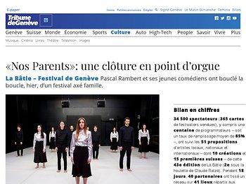 «Nos Parents»: une clôture en point d'orgue