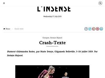 Crash-texte