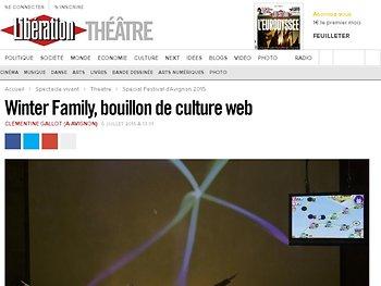 WinterFamily, bouillon de culture web