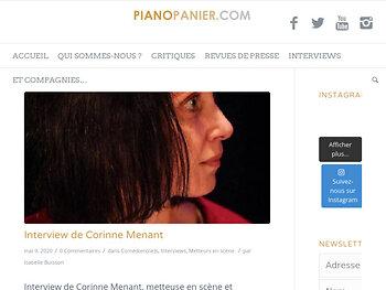 Interview de Corinne Menant