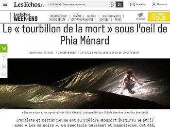 Le «tourbillon de la mort» sous l'oeil de Phia Ménard
