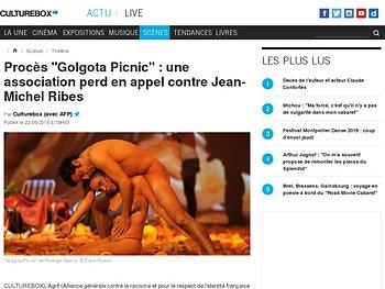 "Procès ""Golgota Picnic"" : une association perd en appel"