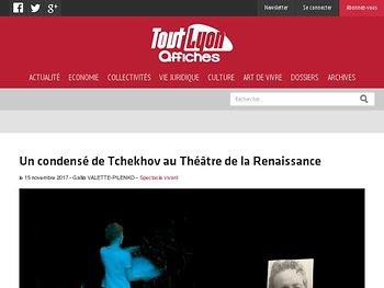 Un condensé de Tchekhov au Théâtre de la Renaissance