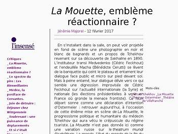 La Mouette, emblème réactionnaire ?