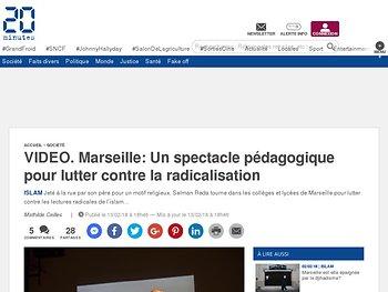 Un spectacle pédagogique pour lutter contre la radicalisation