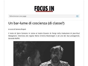Un bar-lume di coscienza (di classe?)