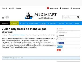Julien Guyomard ne manque pas d'avenir