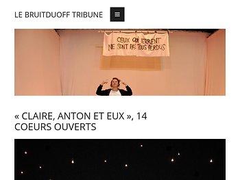 «Claire, Anton et eux», 14 cœurs ouverts