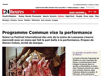 Programme Commun vise la performance