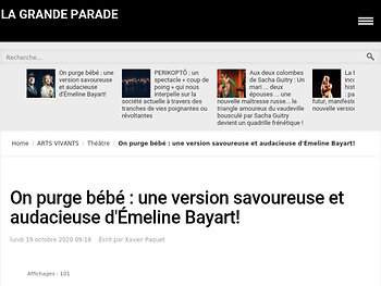 Une version savoureuse et audacieuse d'Émeline Bayart!