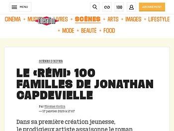 Le «Rémi» 100 familles deJonathan Capdevielle