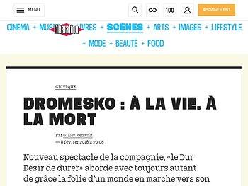 Dromesko : A la vie, A la mort