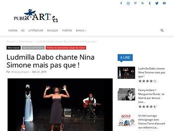 Ludmilla Dabo chante Nina Simone mais pas que !