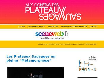 """Les Plateaux Sauvages en pleine """"Métamorphose"""""""