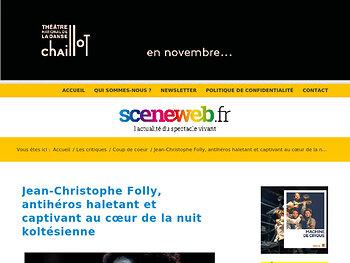 Jean-Christophe Folly, antihéros haletant et captivant au cœur de la nuit koltésienne