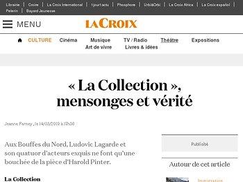 «La Collection», mensonges et vérité