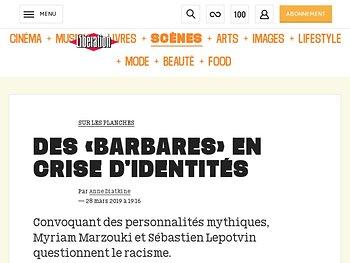 Des «Barbares» en crise d'identités