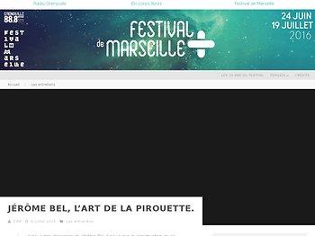 Jérôme Bel, l'art de la pirouette.