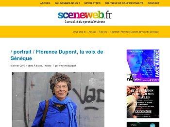 Florence Dupont, la voix de Sénèque