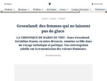 Groenland: des femmes qui ne laissent pas de glace