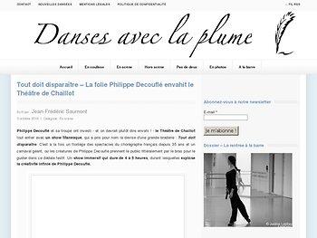 La folie Philippe Decouflé envahit le Théâtre de Chaillot