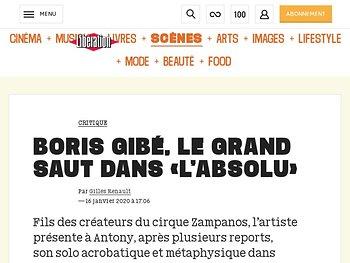 Boris Gibé, le grand saut dans «l'Absolu»