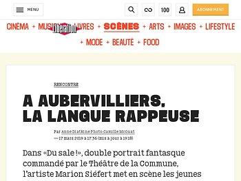 A Aubervilliers, lalangue rappeuse