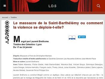Le massacre de la Saint-Barthélémy ou comment la violence se déploie-t-elle?