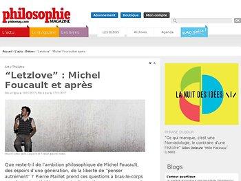 Michel Foucault et après