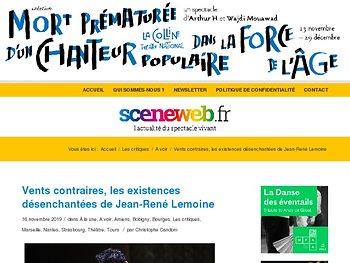Vents contraires, les existences désenchantées de Jean-René Lemoine