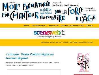 Frank Castorf signe un fumeux Bajazet