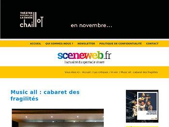 Music all : cabaret des fragilités